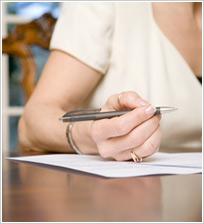 Writing a testimonial