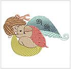 Baby Girl Angels (set 2)