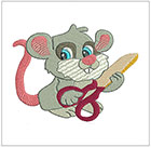 Baby Sewing Mice set 2