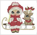 Beautiful Eyes Christmas set 3