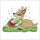 Christmas Little Deer set 2