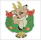 Christmas Little Deer