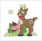 Darling Christmas Deer