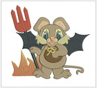 Darling Halloween Mouse 2