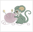 Darling Sewing Mice 2