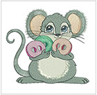 Darling Sewing Mice 2