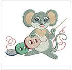 Darling Sewing Mice