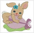 Easter Bunny set 1