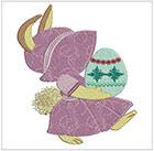 Easter Sunbonnets set 2