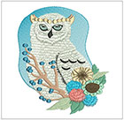 Elegant White Owls