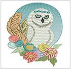 Elegant white owls 2