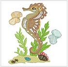 Faithful Seahorses set 2