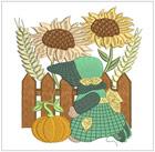 Fall Sunbonnet Girl