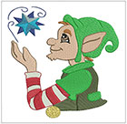 Happy little Christmas Elves set 2
