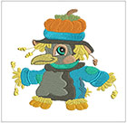 Happy li'l scarecrow munchkins set 2
