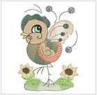 Jacobean Baby Birds II