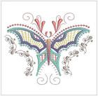 Jacobean Butterflies