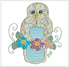 Jacobean Owls set 2