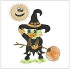 Quackers Halloween