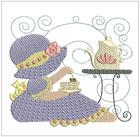 Quilting Tea-Time Bonnets