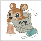 Sewing Time Mice