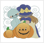 Sunbonnet Halloween Blocks II