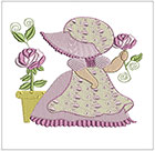 Sunbonnet Rose set 2
