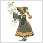 Sunbonnet Witches A