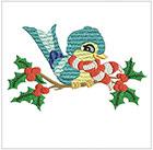 Christmas Swallows