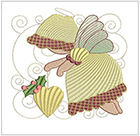 Christmas Sunbonnet Angels