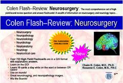 neurosurgery flashcard review